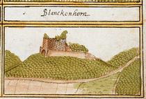 Burg Blankenhorn um 1680