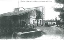Le moulin et la minoterie dans les années 30.