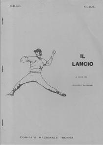 Il volume sul lancio stampato dal CNT negli anni 70