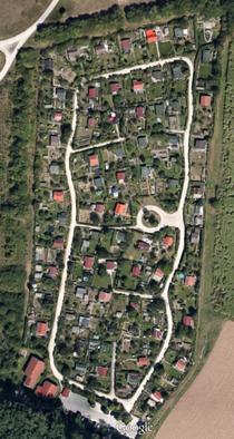 Satellitenaufnahme KGV Eichwasen 1996