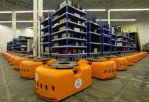 Amazonの倉庫管理用ロボット