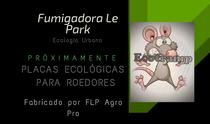 Ecotramp.  NUEVAS placas ecológicas para roedores
