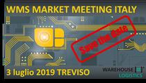 Abbiamo il piacere di annunciare il WMS Market Meeting Italy 2019