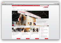 Webseite Fritz Egger GmbH
