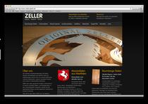 Webseite Zeller GmbH