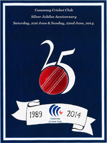 Cossonay Cricket Club Silver Jubilee Anniversary