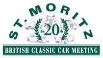 British Classic Car Meeting at St. Moritz