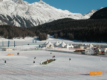 Cricket On Ice in St. Moritz