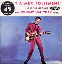 Disque 45 tours de Johny Hallyday