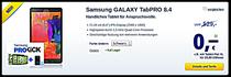Samsung Galaxy TabPRO 8.4 Schwarz Samsung GALAXY TabPRO 8.4