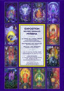 Exposition Vezelay 2009, cliquer pour agrandir l'affiche