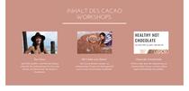 ❤️🙌❤️🙌❤️🙌❤️ 09.10.2021 11Uhr  (((Cacao Ceremony Workshop mit Kun Deva!!)))  www.cacaolove.at 💗💗💗  In diesem dynamischen Kakao Workshop erlebst Du in mehreren Schritten den faszinierenden Kakao mit allen Sinnen und dabei nimmt Dich Daniela (Kun Deva) mit auf die authentische Reise in die Welt der Mayas aus, wo die gebürtige Kärntnerin seit 2 Jahren ausgewandert ist. So erschließt es sich Dir von selbst, warum Kakao als Geschenk der Götter verehrt wurde! Bei diesem Workshop erfährst Du:  🍫Wissenswertes über den Wert und das Potential echten Kakaos und Du wirst danach die Schokoladenwelt mit anderen Augen sehen  🍫 Kreativität und Intuition durch zeremoniellen Kakao  🍫 Gesundheit und Genuss im Gegensatz zur industriellen Schokolade  🍫 Detox und Emotional Release  Veranstaltungsort ist der  Seminarraum von Ursula in der Stahlgasse 1,8020 Graz  Schokoladige Grüße, Kun Deva 💜🍫💜  Wann: Samstag, 09.10.2020  Uhrzeit: 11:00-13:00  Ausgleich: 35 Euro (bei Voranmeldung durch Überweisung PayPal www.paypal.me/CacaoloveAT) 40 Euro vor Ort
