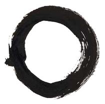 """""""wuji"""", Symbol für """"etwas, das keine Pole hat"""""""