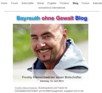 Artikel Gewaltfreie Stadt Bayreuth