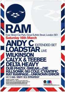 Ram Records Warehouse Party