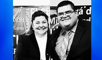 Pbro.Evangelina Zapata y Pbro.Aldo Flores
