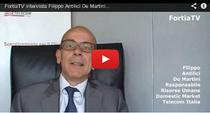 Filippo Antilici De Martini, Telecom Italia