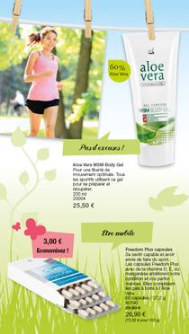 Aloe Vera MSM Body Gel  Pour une liberté de mouvement optimale. Tous les sportifs utilisent ce gel pour se préparer et récupérer.  Un gel doux qui pénètre très vite pour toutes les douleurs