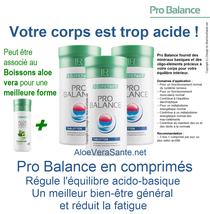 Pro Balance fournit une combinaison sélectionnée de sels minéraux basiques !