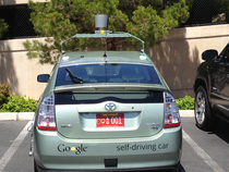 La google car sans conducteur