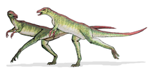 Bild eines Lesothosaurus