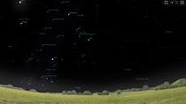 Fenster von Stellarium.