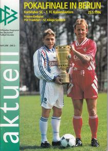 Cover des Stadionmagazins zum Finale (Foto: Archiv Eric Lindon)