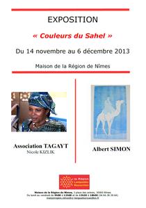 """Tagayt - Exposition """"Couleurs du Sahel"""""""