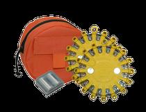 Original PowerFlare - Softpack - 2er Set mit roter Tasche und 2 Ersatzbatterien