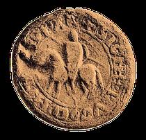 Siegel eines Grafen von Empúries