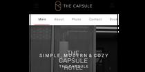 Simple, modern & cozy. The Capsule
