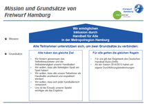 Mission von Freiwurf Hamburg