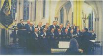 """Die """"Liedertafel"""" ist 155 Jahre alt. In der Kirche gaben die Sänger ein Konzert mit dem Gemeinschaftschor und dem Frauenchor Grenzland. rp-foto: passage"""