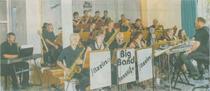 """Die Big Band """"Jazzlife"""" der Kreismusikschule unter der Leitung von Rainer Tegtmeyer eröffnet """"Jazz am Ring"""". Foto: Veranstalter"""