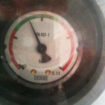 Wasserdruckanzeige des Erdwärmekollektors