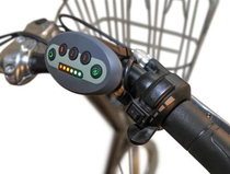 Dreirad mit Elektrosteuerung