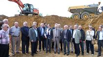 Lancement du début des travaux du contournement de Sartilly le 20 juin 2013
