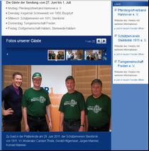 Ausschitt der Homepage des NDR 1. Zum vergrößern anklicken!