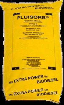 FLUISORB Ölbinder in signalgelber Verpackung