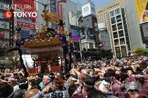 烏森神社例大祭, 2016年5月5日, 新橋駅前, SL広場, 本社神輿, お祭り写真,