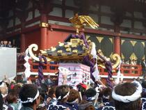2013年 投稿写真:千囃連さん〈本社一之宮神輿〉
