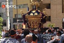 三崎稲荷神社例大祭, 2016年5月4日, 本社神輿渡御, 宮神輿, 写真