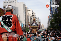 下谷神社例大祭, 本社千貫神輿渡御, 下谷祭, 2016年写真