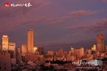 9月16日: 東京の夕焼け