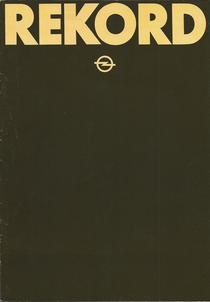 Prospekt Opel Rekord 1979