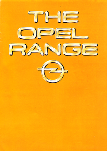 The Opel Range