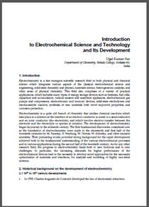 Introduction to Electrochemical Science