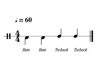 Cajongroove Bass Bass Slap Slap