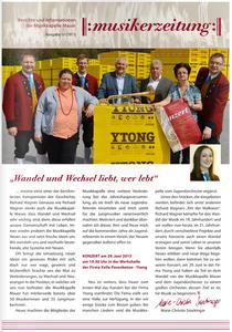 Musikerzeitung Ausgabe 01/2013
