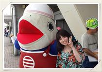 三浦市のゆるキャラ「つなのすけ」